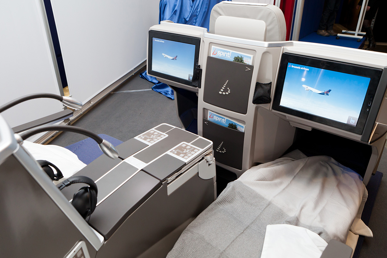 Brussels Airlines New Business Class A330 Bart La