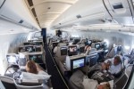 Brussels Airlines new Business class cabin inaugural flight SN501 BRU-JFK-June1-2012