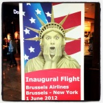 Inaugural Flight Brussels Airlines to New York JFK
