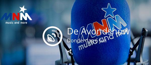 Bart Lapers MNM De Avondshow Radio