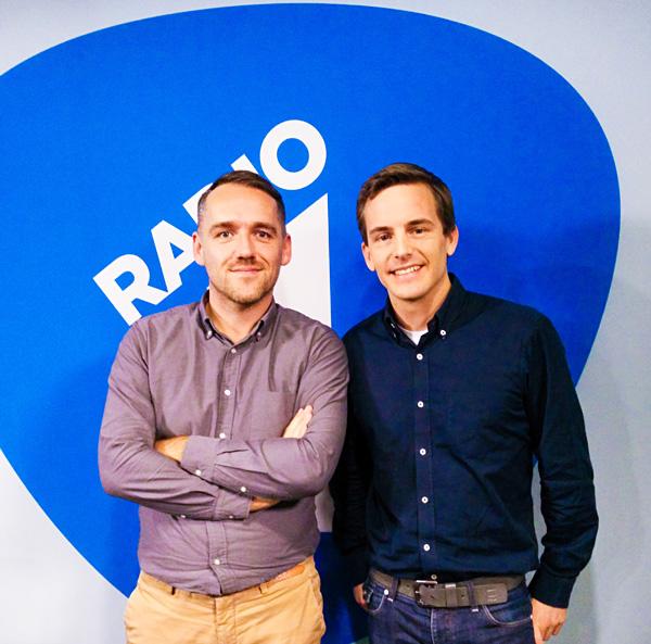 Bart Lapers Radio 1 Xavier Taveirne interview