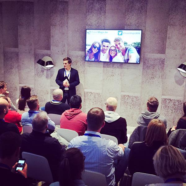 Bart Lapers at TravelMagic 2014 Meet-up