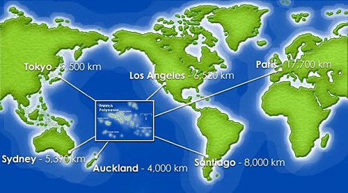 French Polynesia: Tahiti and Bora Bora Airfares | bart.la