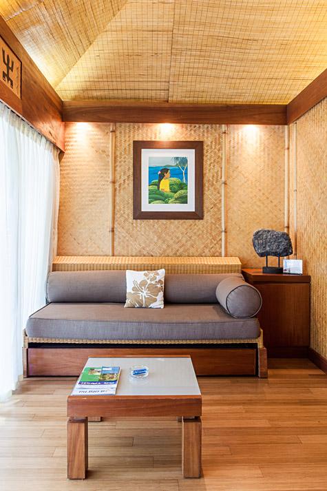 Moorea Beach Club Living Room