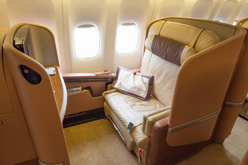 Singapore Airlines First Class: SQ211 to Sydney