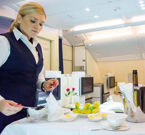 First Class Services First In Class: Lufthansa A380 First Class: Frankfurt – Singapore