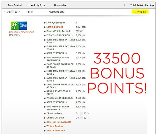 IHG Rewards Club: Promotion codes & Big Win update   bart la