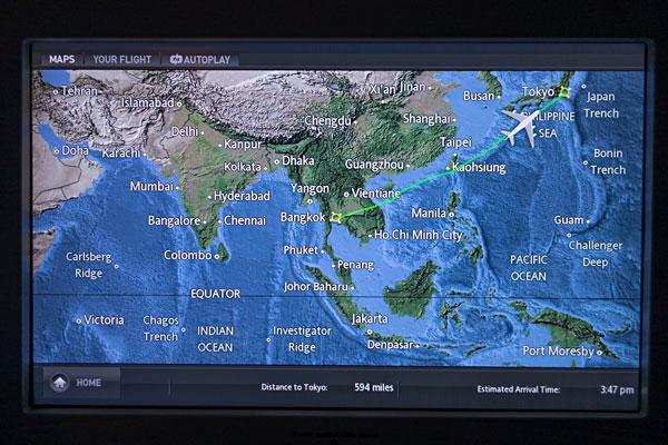 Thai Airways A380 Royal First Bangkok To Tokyo Bart La