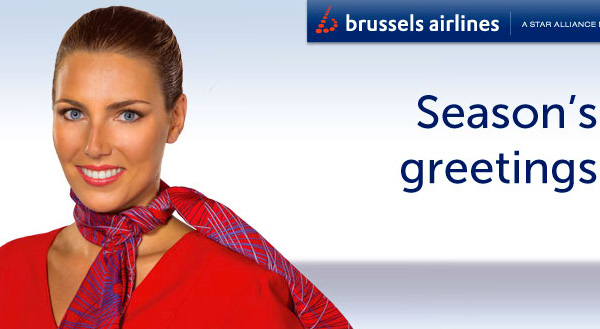 Brussels Airlines has an interesting Christmas offer: the B.Gift voucher at ...