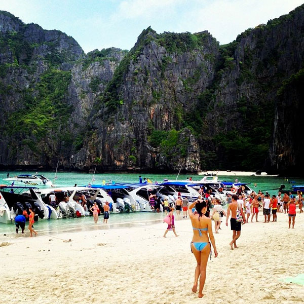Phi Phi Beach: This Was 2013: November