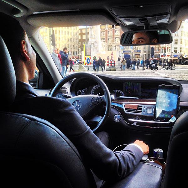 E320 Mercedes Platinum: 24 Hours In Amsterdam