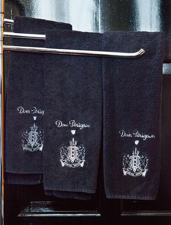 Dom Perignon Towels at InterContinental Amstel Amsterdam
