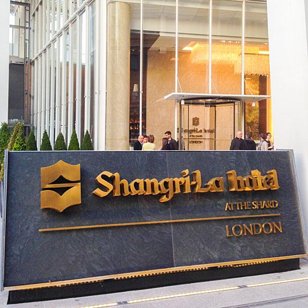 Shangri-La Hotel at The Shard in London