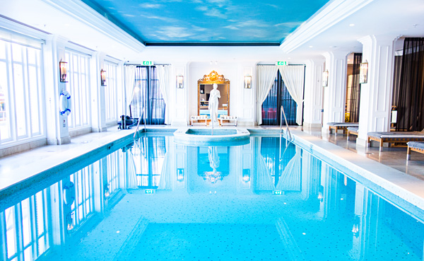 Swimming Pool at InterContinental Amstel Amsterdam