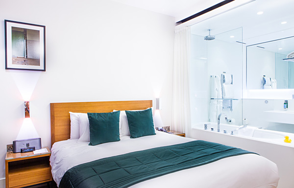 Double Room atTown Hall Hotel in East London