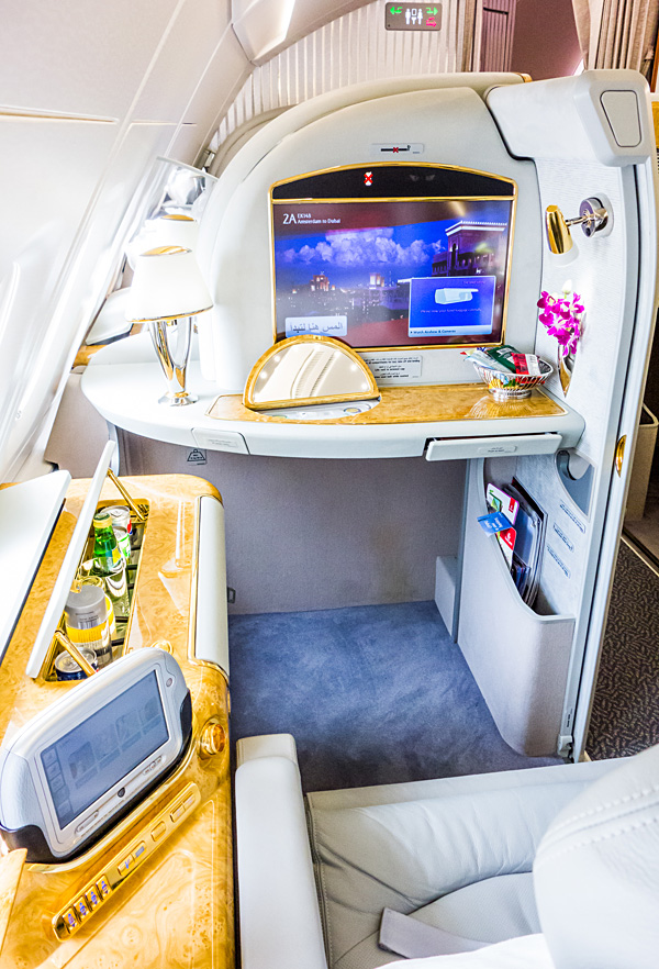 Emirates 1st edition First Class A380 Suite 2A