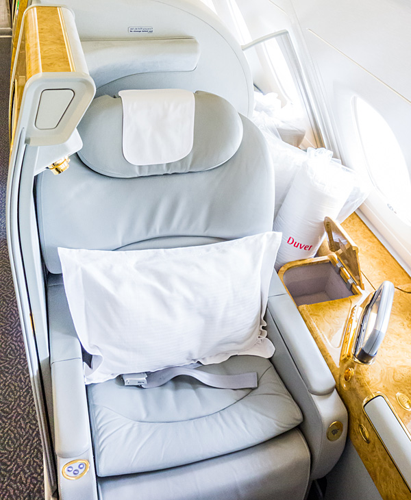 Emirates A380 First Class Suite Seat