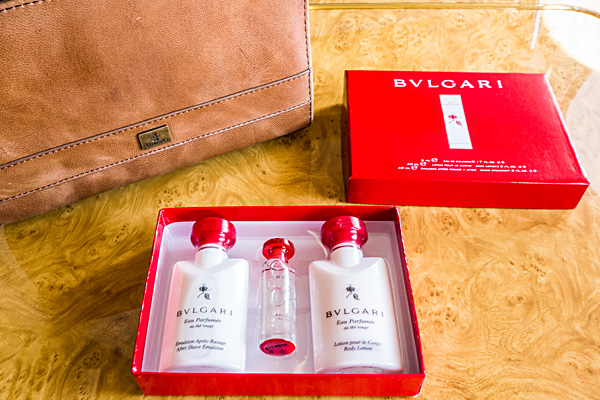 Emirates A380 First Class BVLGARI Amenity Kit