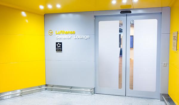 City Lights Lufthansa Senator Lounge B Frankfurt Airport