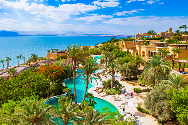 Kempinski Hotel Ishtar Dead Sea Jordan Swimming Pool