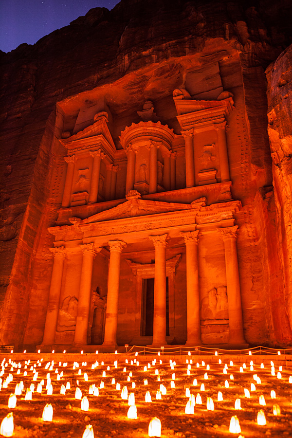 Petra-by-Night-Jordan