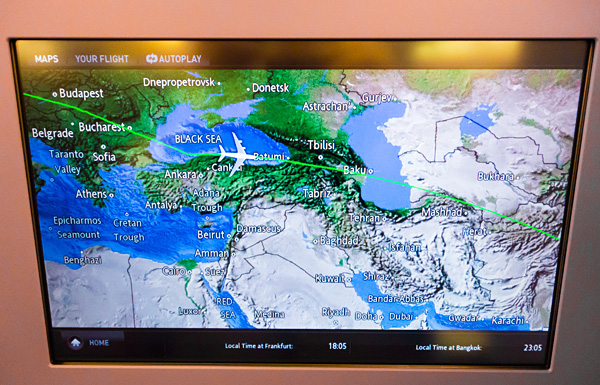 Thai Airways A380 Avoiding Eastern Ukraine Airspace After Malaysia Airlines MH17 Crash