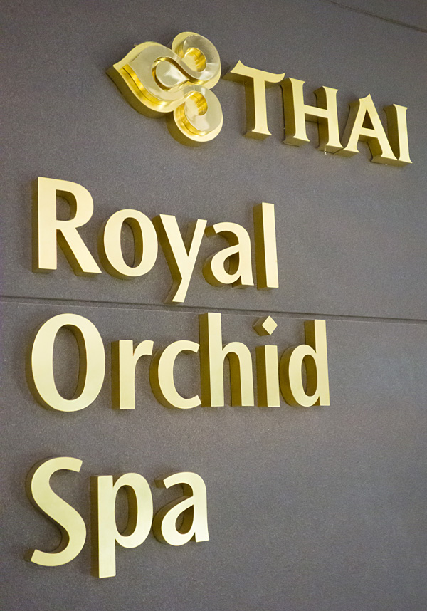 Thai Airways Royal Orchid Spa Bangkok Airport