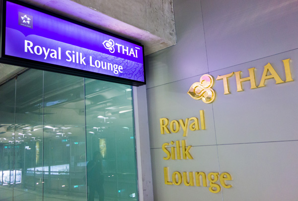 Thai Airways Royal Silk Lounge Bangkok Suvarnabhumi Airport