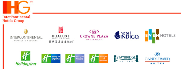 IHG InterContinental Hotel Group Brands Logo