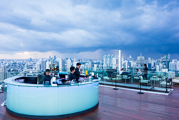 Octave Rooftop Lounge and Bar Bangkok Marrriott