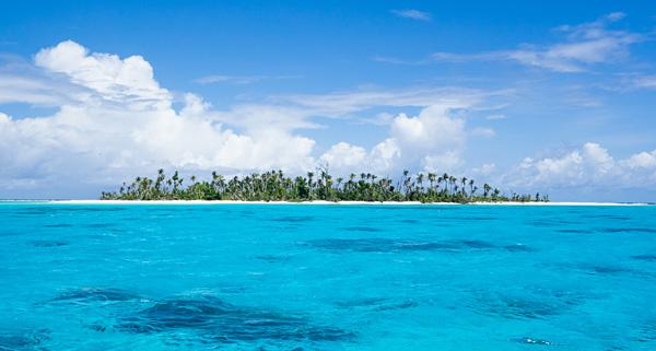 Kayangel island Palau