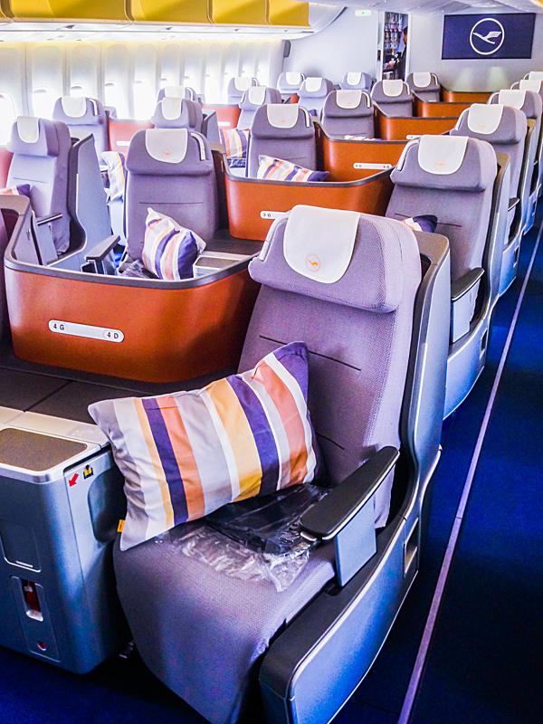 Lufthansa B748 Business Class