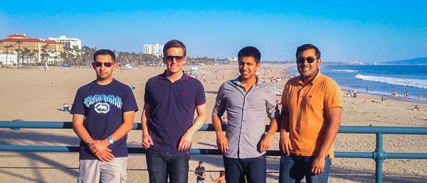 Travel bloggers meet-up at Santa Monica Pier