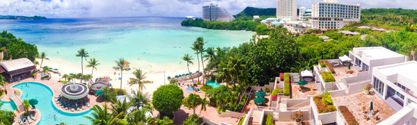 Tumon Bay view from Westin Resort Guam