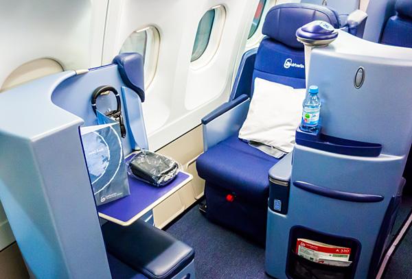 Air Berlin A330 new Business Class Seat 2K