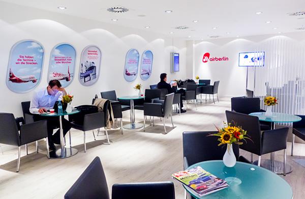 Air Berlin Lounge TXL Tegel Airport
