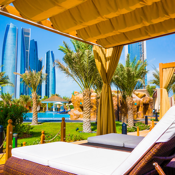 Bayshore Beach Club Cabana InterContinental Abu Dhabi