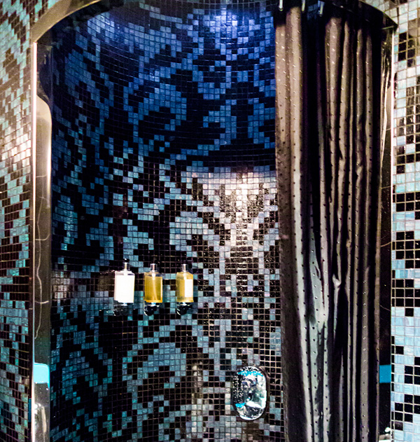 Etihad Abu Dhabi Business Class First Class Lounge Shower