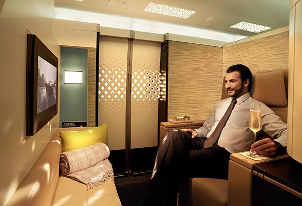 Etihad Airways A380 First Class Apartment Seat