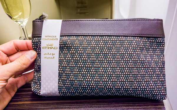 Etihad Business Class Amenity Kit November 2014