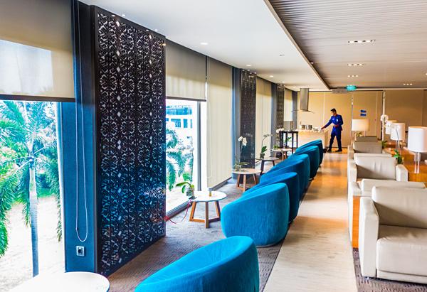 Garuda Indonesia Executive Lounge Jakarta CGK Soekarno Hatta Airport