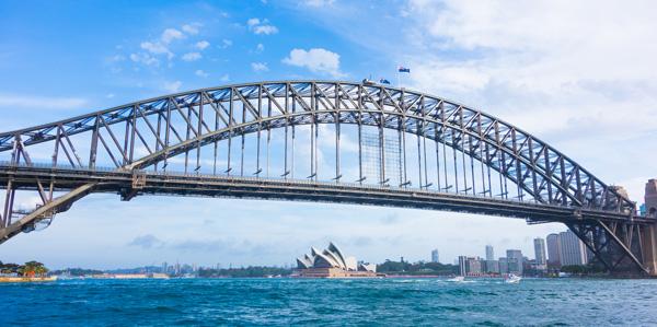 Boating Sydney Harbour Bridge