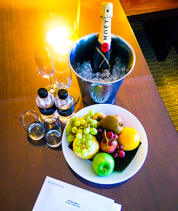 Welcome Amenity Moet Champagne InterContinental Sydney