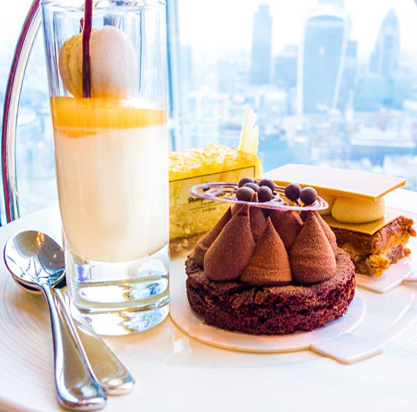 Afternoon Tea at Ting Shangri-La The Shard London
