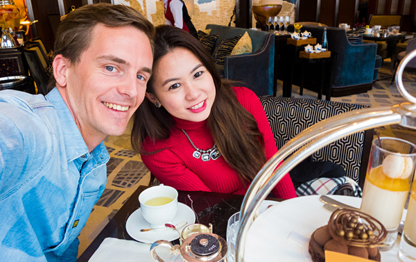 Afternoon Tea at Ting Shangri-La The Shard London