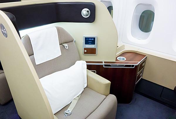 My Qantas A380 First Class Seat 4A DXB MEL