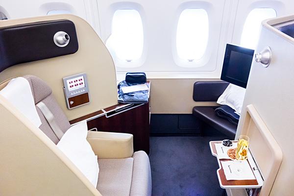 Qantas A380 First Class Seat 4A London Dubai