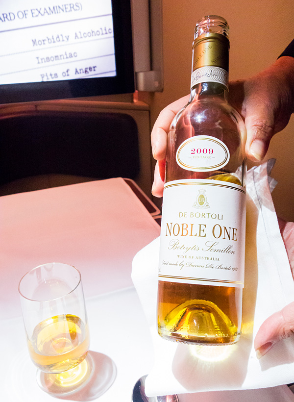Qantas First Class Wine - 2009 De Bortoli Noble One Botrytis Semillon