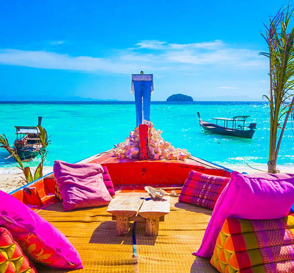 Happy Vibe Beach Bar Lunch Sunrise Beach Koh Lipe