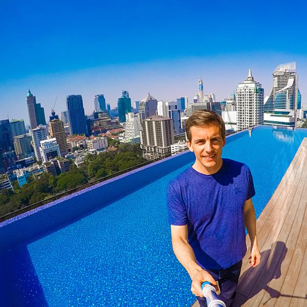 Hotel Indigo Bangkok Wireless Road Rooftop Pool